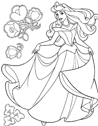 sleeping beauty coloring pages 3 coloring kids
