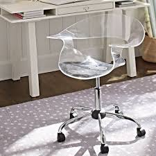 Desk Chairs With Wheels Design Ideas Desk Chair Lucite Desk Chair With Wheels Acrylic Swivel Chair