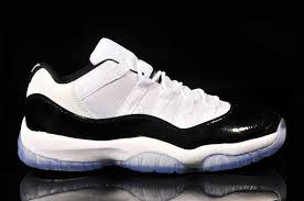 buy authentic air jordan 11 low white black concord online real