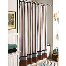 Stripe Shower Curtains Better Homes And Gardens Citrus Stripe Shower Curtain Walmart Com