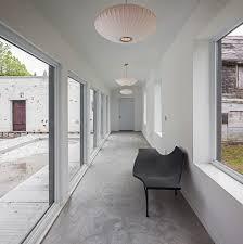 minimalist hallway designs hall modern with white walls white wall
