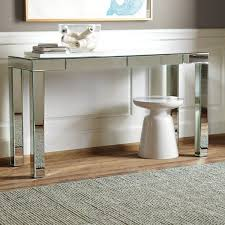 target parsons dining table a parsons mirror console table with additional trend theme target