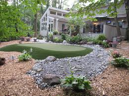 Building A Backyard Putting Green Custom Built Putting Greens L Nj Pa L Deshayes Dream Greens