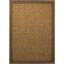 Lowes Round Rugs Sale Shop Allen Roth Decora Rectangular Indoor Outdoor Woven Area Rug