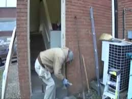 How To Install An Exterior Door Frame Door And Frame Installation Part 1