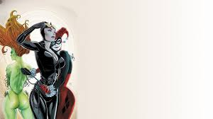 comics harley quinn catwoman poison ivy wallpapers hd desktop