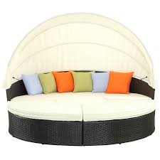 outdoor sectional daybed with canopy alldaychic