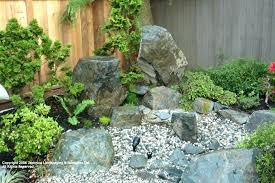 Small Rock Garden Design Ideas River Rock Garden Ideas River Rock Path Contemporary Landscape