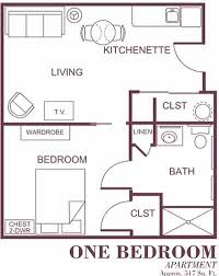 in apartment floor plans assisted living apartment floor plans
