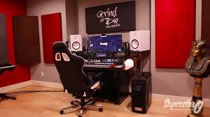 Omnirax Presto Studio Desk by Superstar O Home Studio Tour New Youtube
