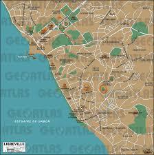 Gabon Map Geoatlas City Maps Libreville Map City Illustrator Fully
