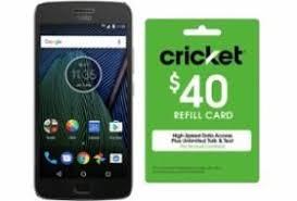 cricket black friday deals 2017 32gb moto g5 plus unlocked phone 40 cricket refill card