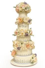 wedding cake lavender silver lavender floral wedding cake wedding cakes