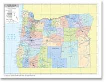 political map of oregon stockmapagency maps of oregon offered in poster print by jpg