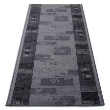 tapis de cuisine design tapis de cuisine design gris avec motif 3 largeurs tapistar fr