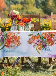 bountiful bouquet tablecloth linens u0026 kitchen tablecloths