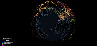 all the world s global trade in one interactive map