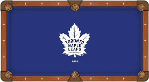 toronto maple leafs pool table cloth u0026 billiard felt by hainsworth