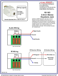 cat6 punch down keystone jack inside wiring diagram and