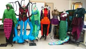 Alien Costumes Students Create Alien Costumes For Reiman Gardens Event Archive
