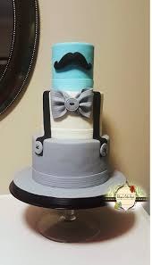 gentleman baby shower is on the way baby shower cake cakecentral