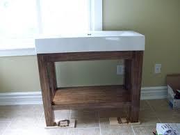 diy wood vanity top tags diy bathroom vanity teddy duncan