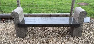granite benches greenbridge designs the modern way to commemorate