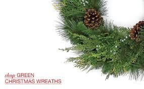 artificial wreaths garlands santa s quarters