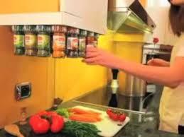 rangement cuisine pratique carrousel à épices 20 flacons winchef cuisine pratique