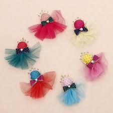handmade hair accessories fashion 24 pieces lot princess crown lace diy handmade hair