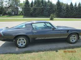1981 camaro z28 value buy used 1981 chevrolet camaro z28 t top charcoal exterior with