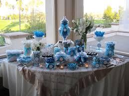 idee deco bar idées pour mariage ou baptême bleu turquoise mariage idées