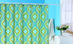 Shower Curtain Teal Shower Curtains U0026 Liners Deals U0026 Coupons Groupon