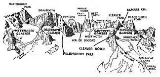a climber u0027s guide to the high sierra 1954 u201cthe sawtooth ridge