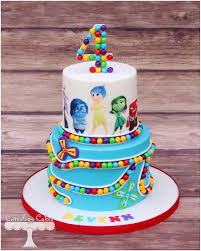 inside out cakes inside out themed cake www i cuteology cakes