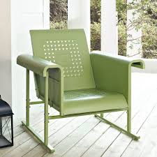 Wicker Glider Patio Furniture - coral coast vintage retro outdoor glider chair hayneedle