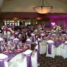 cheap wedding linens 105 best purple wedding banquet images on flower