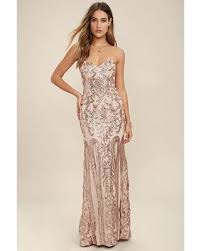 gold maxi dress new savings on bariano gold strapless sequin maxi dress