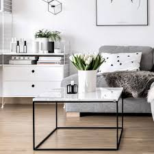 living room living room marble decordots scandinavian living room marble coffee table