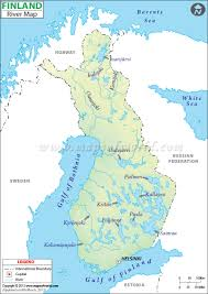 Scandinavia Blank Map by Finland River Map Visit Finland Maps Pinterest Finland