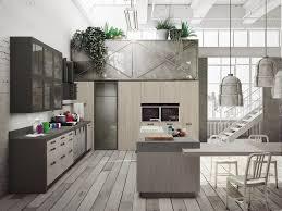 snaidero cuisine loft cuisine avec îlot collection sistema by snaidero design