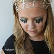 Spider Eyes Makeup Halloween by Doodlecraft Revitalize And Restore Old Halloween Make Up