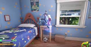Toy Story Andys Bedroom Geek It Gaming First Sneak Peek Of Kingdom Hearts Iii Toy Story