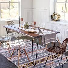 wood flynn hairpin dining table world market