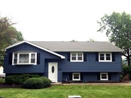 architecture blue best house siding colors with sliding windows