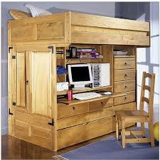 wooden kids bunk beds with desk u2014 all home ideas and decor cozy