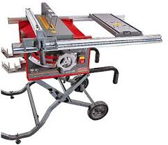 10 Craftsman Table Saw Craftsman 9 21829 Professional 15 Amp 10 Inch Portable Table Saw