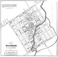 Map Of Richmond Va Richmond Map 1863 Richmond Heritage