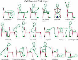 Office Chair Exercises Captivating Chair Yoga For Kids 53 On Office Chairs With Chair