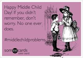 Middle Child Meme - happy middle child day if you didn t remember don t worry no